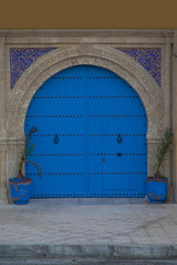 Old moroccan door from Essaouira