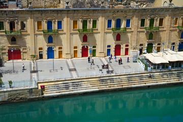Malta La Valletta historic port