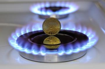 Dollar burning Gas