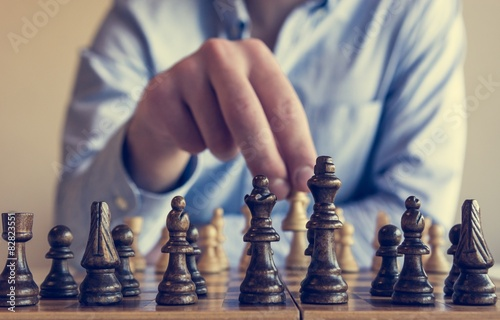 Poster, Tablou Game of chess