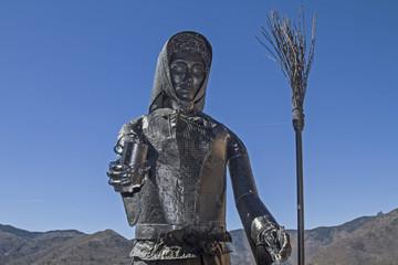 Hexendenkmal in Triora