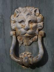 Antico battente di una porta