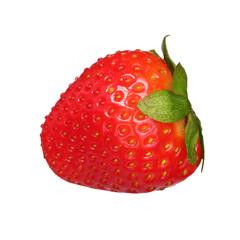 Strawberry isolated on white