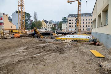 Neubauten in der Stadt