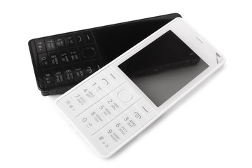 Keypads of mobile phone