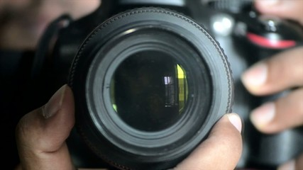 Digital SLR camera Lens Focusing and controlling