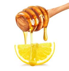 lemon with honey