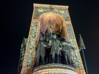 Taksim Cumhuriyet Anıtı İstanbul