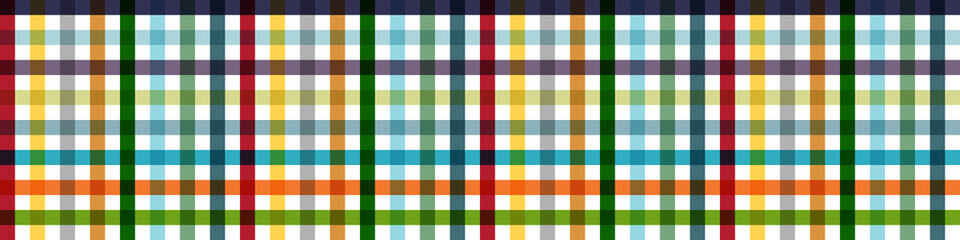 Tablecloth Multiply Colors Pattern