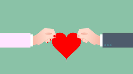 mano, mani, cuore, amore, innamorati