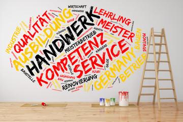 Handwerk in Farben von Deutschland