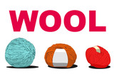 ball of wool sign illustration
