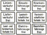 Supplemental Restriction Exceptions In Germany poster