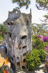 Crazy house at Dalat city Vietnam