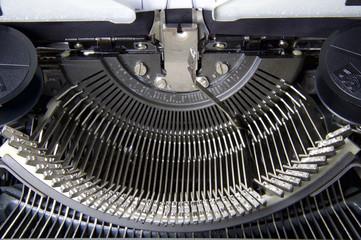 Inside Conventional Typewriter