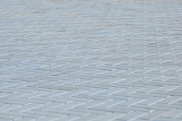 blue outdoor tile
