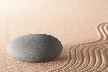 spiritual zen stone © kikkerdirk