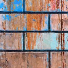 part of wooden door texture