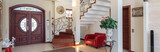 Entrance in classy house