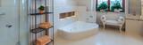 Bright classic bathroom