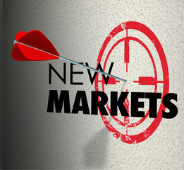New Market Words Targeted Increase Grow Business Sales