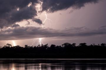 Rio atrato, tormenta