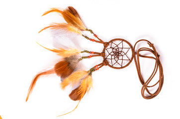 Dream catcher isolated on white background