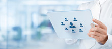 Los recursos humanos de contratación