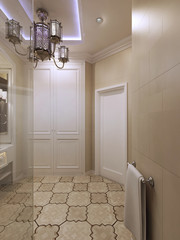 Spacious luxury barhroom