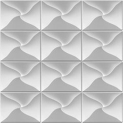 Grey tile wall