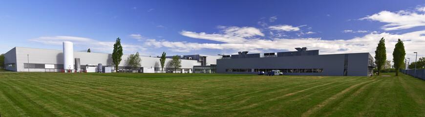 modernes Fabrikgebäude - Panorama