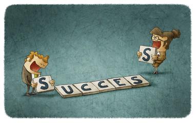 Success scrabble