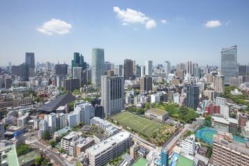 東京タワーからの眺め(西側/六本木方面)