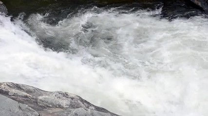 An eddy of water flows in circles
