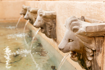 The fountain in Piazza Palio , NAKORN RATCHASRIMA , Thailand