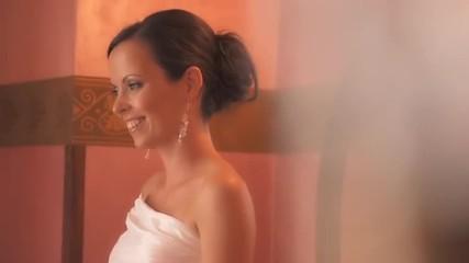 Stylish Portrait Shot Of Beautiful Young Bride
