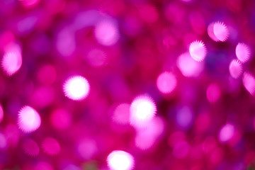The background blur of pink