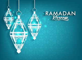 Beautiful Elegant Ramadan Kareem Lanterns