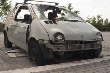 car damaged