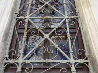 Bulgarian Orthodox Church Window