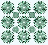 Illusion of rotation movement