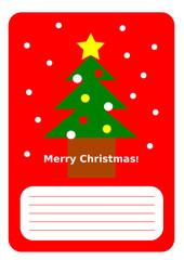 クリスマス カード イラスト