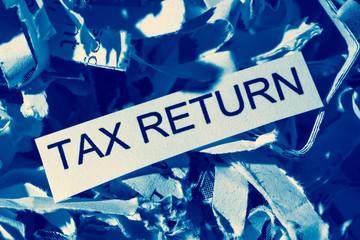 Papierschnitzel Tax Return