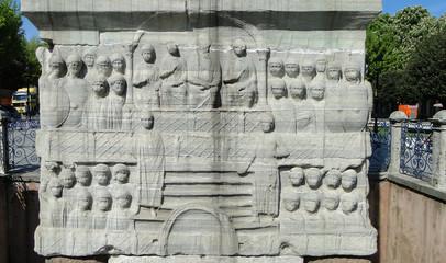 The Obelisk of Theodosius at the Hippodrome