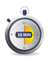 Timer Icon - 30 Minutes