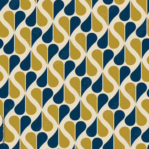 seamless pattern retro レトロパターン - 82973513