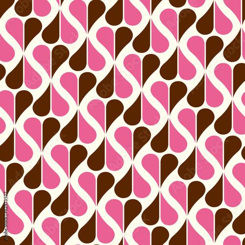 seamless pattern retro - 82973527