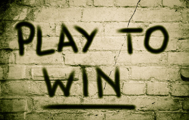 Play To Win Concept