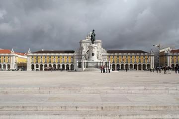 Place du commerce, Lisbonne, Portugal