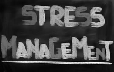 Stress Menagement Concept